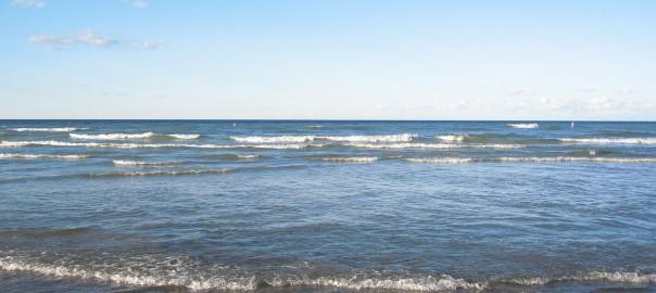 Lac Michigan Réveil